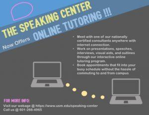 USM Speaking Center Online