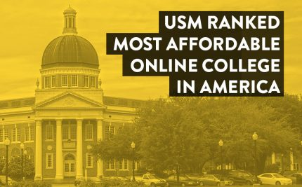 Ranked #1 Most Affordable Online College in the Nation