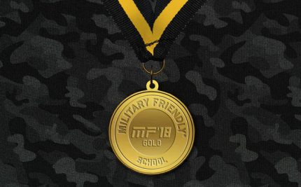 We Won Gold in Military Friendly Schools