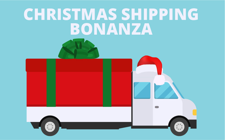 Christmas Shipping Bonanza: On Time Shipments with Logistics Management