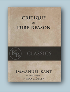 A picture of Immanuel Kant's The Critique of Pure Reason