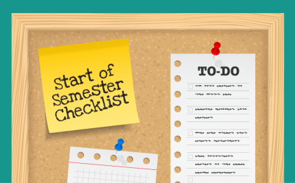 Start of Semester Checklist