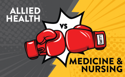 Allied Health vs Medicine/Nursing
